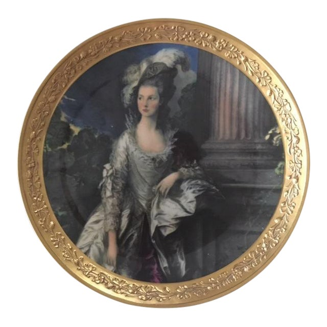 "Gorham Fine China Plate ""The Honorable Mrs. Graham"" - Image 1 of 3"
