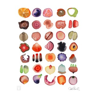 "Mise en Place, Giclee Print 16x20"" Watercolor For Sale"