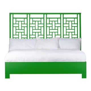 Ohana Bed King - Bright Green For Sale