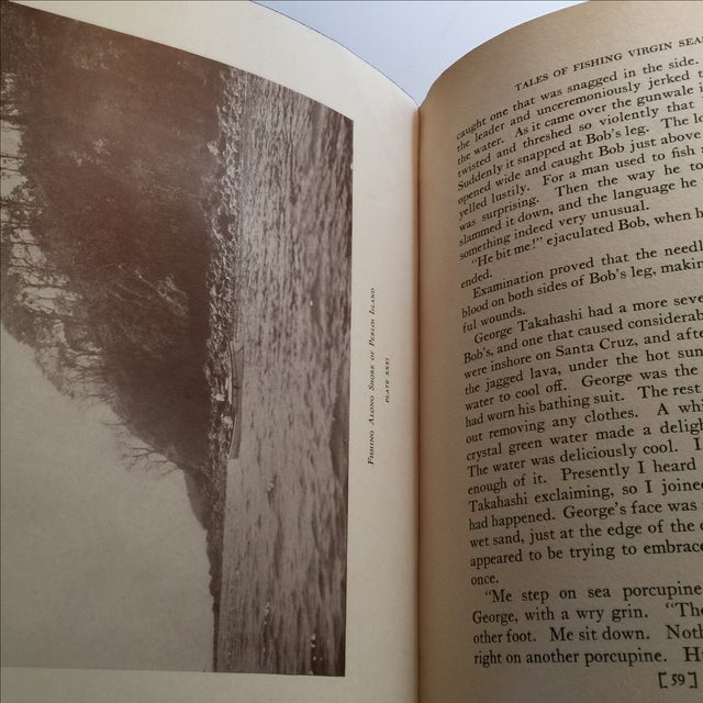 "1925 ""Tales of Fishing Virgin Seas"" by Zane Grey - Image 8 of 11"