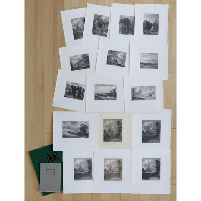 John Constable & David Lucas Mezzotint Collection From the Tate Gallery in London 1990's - Set of 16 For Sale - Image 14 of 14