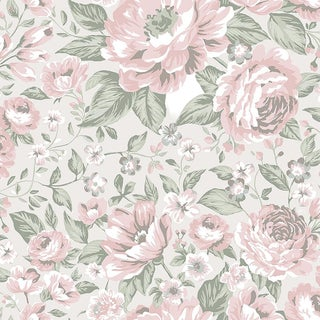 Rosie Wallpaper by Borastapeter Wallpaper - This Is a Sample For Sale