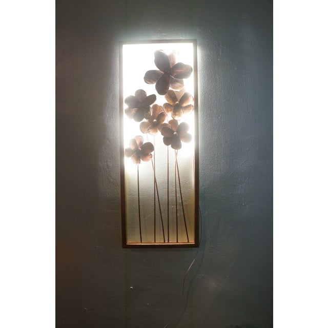 Curtis Jere Brutalist Wifi Illuminated Wall Art For Sale - Image 4 of 7