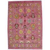 Image of Contemporary Turkish Oushak Rug - 10′9″ × 15′ For Sale