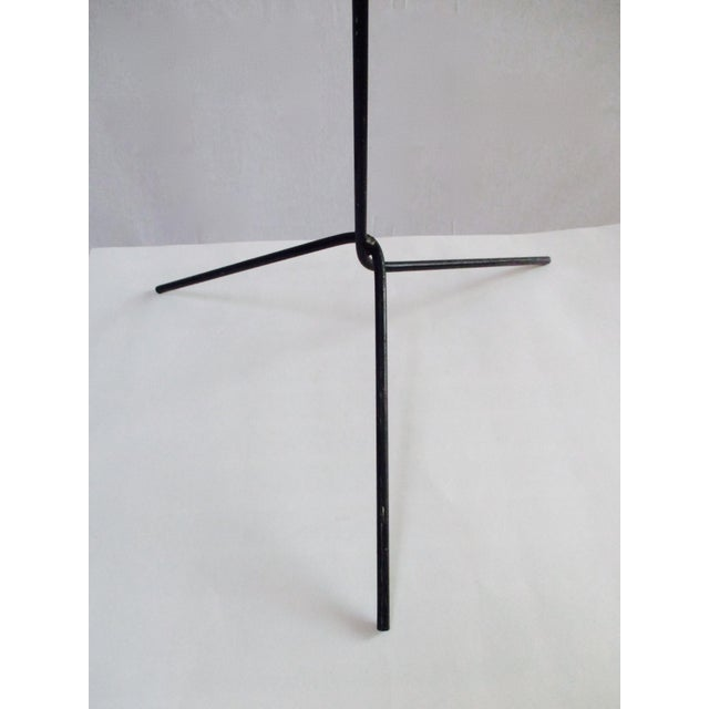 Modernist Abstract Industrial Wire Mannequin Form on Stand For Sale - Image 11 of 11