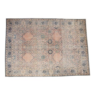 "Vintage Kashan Carpet - 10'1"" X 14'2"" For Sale"