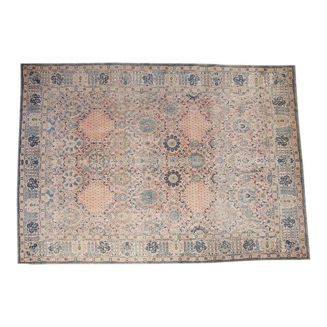 """Vintage Kashan Carpet - 10'1"""" X 14'2"""" For Sale"""