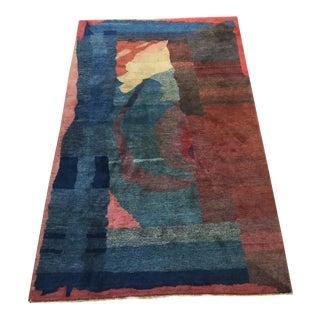 Tibetan Modern Nepal Rug - 3′10″ × 5′2″ For Sale