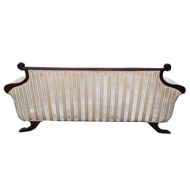 Hollywood Regency American Empire Ornate Sofa - Image 6 of 8