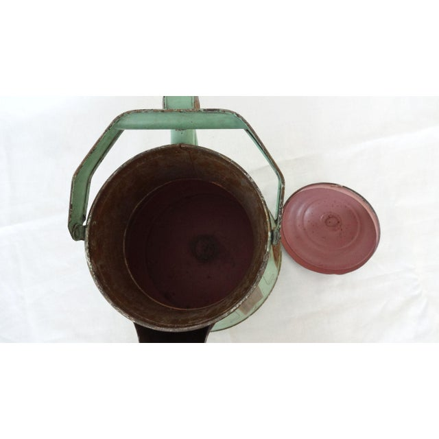19th Century Toleware Water Kettle For Sale In New York - Image 6 of 9