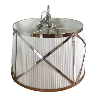 Visual Comfort Large Grosvenor Pendant Light For Sale