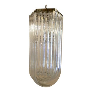 Beautiful Mid-Century Modern Lucite Chandelier For Sale