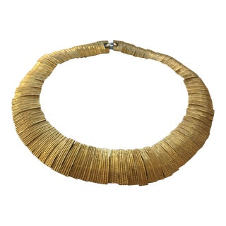 Les Bernard Articulated Necklace For Sale