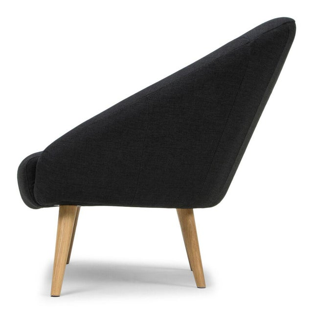 Sarreid LTD Black 'Billionaire' Chair - Image 3 of 6