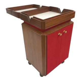 Mid Century Modern Liquor Cabinet / Bar Cart