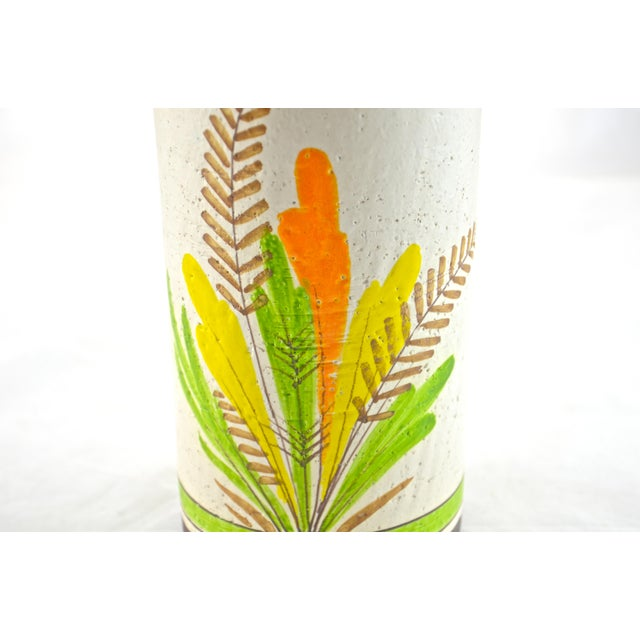 Mid-Century Modern Italian Rosenthal-Netter Ceramic Vase, 1960s For Sale - Image 3 of 6