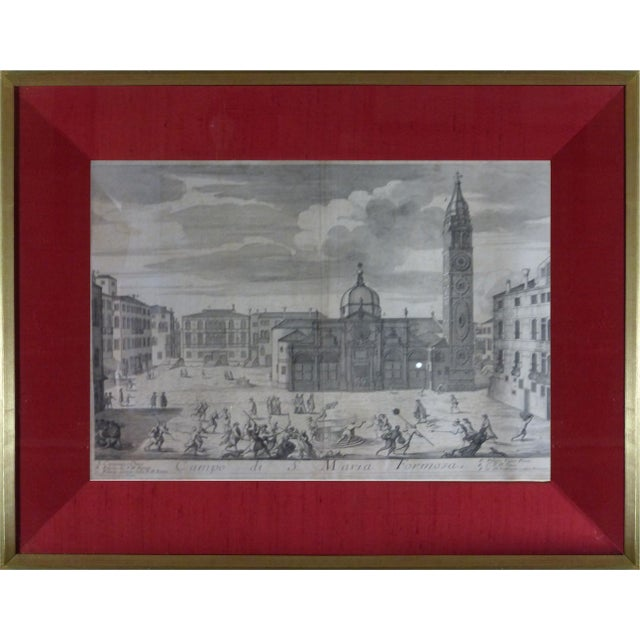 Rare Venice Engravings C. 1720 - Set of 15 - Image 10 of 10