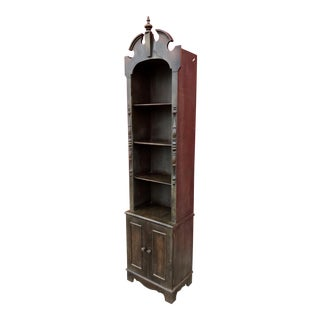 Antique Brandt Furniture Tall Display Cabinet