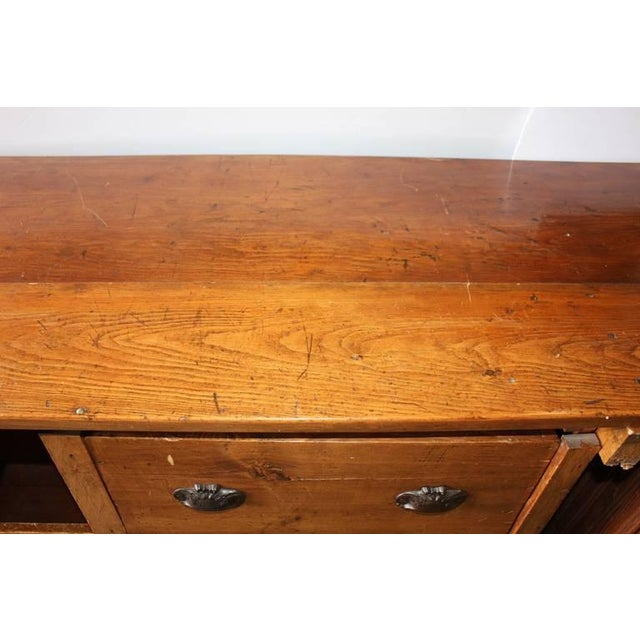 Early 20th C. Antique Store Wood Counter For Sale In Greensboro - Image 6 of 6