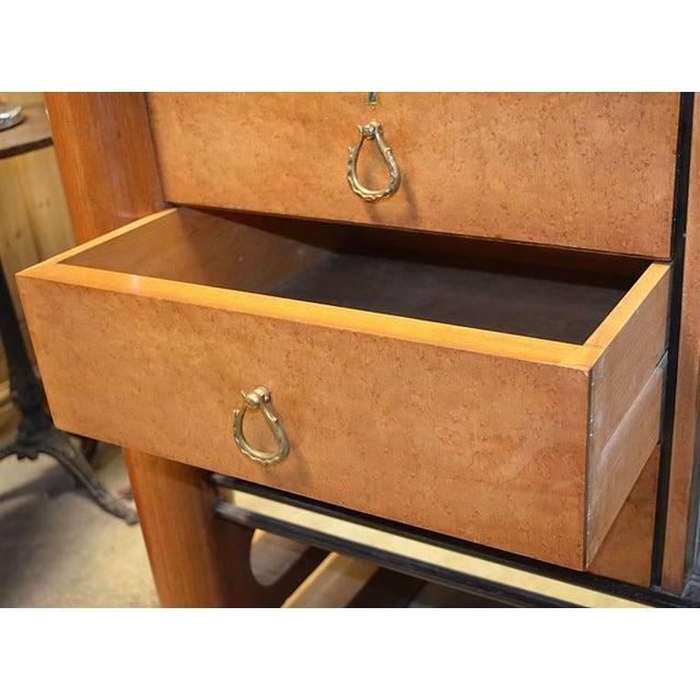 Art Deco 1940s Art Deco Italian Wood Sidebaord For Sale - Image 3 of 10