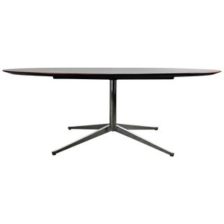 Florence Knoll Conference or Dining Table, Rosewood Top for Knoll For Sale