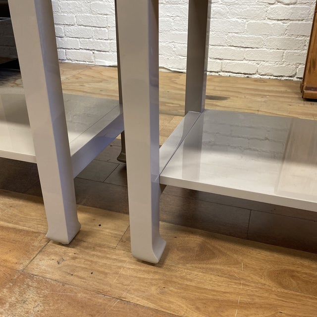 Bungalow 5 Harlow Side Tables - a Pair For Sale In San Francisco - Image 6 of 9