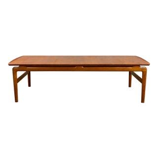 1950s Danish Modern Peter Hvidt & Orla Mølgaard-Nielsen Coffee Table For Sale