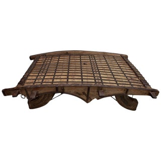 Beautiful Large Late 19th Century Coffee Table From India For Sale
