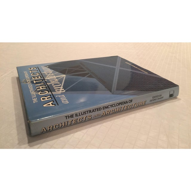 """Contemporary """"The Illustrated Encyclopedia of Architects and Architecture"""" Book by Dennis Sharp For Sale - Image 3 of 13"""
