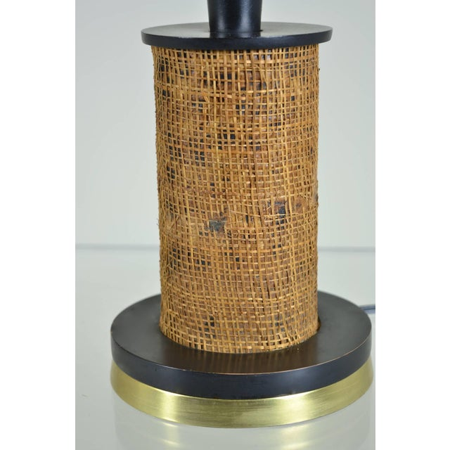 African Style Modern Lamp, Circa 1950s - Image 5 of 6