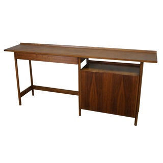 Mid-Century Custom Walnut Credenza Widdicomb For Sale