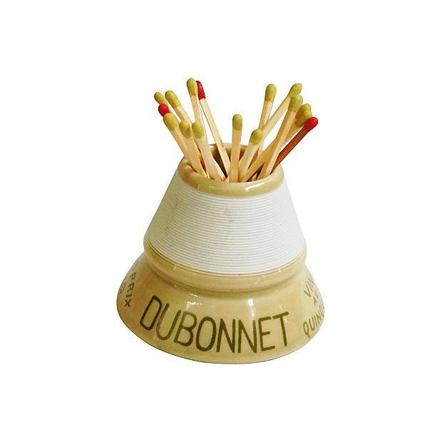 Vintage French Dubonnet Match Striker - Image 1 of 5