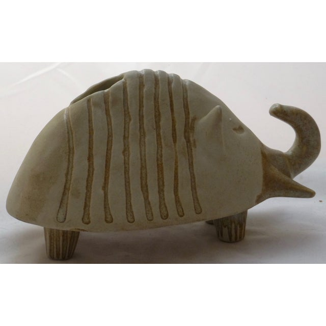 Danish-Style Armadillo Pottery Bank - Image 2 of 11