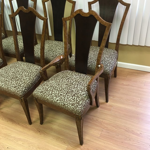Henredon Frame Dining Chairs - Set of 8 - Image 4 of 9