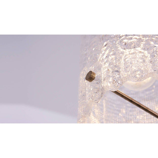 1960s Glass Pendant Light by Carl Fagerlund for Orrefors For Sale - Image 5 of 9