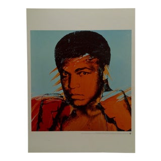 """2000 """"Muhammed Ali"""" Andy Warhol Poster For Sale"""