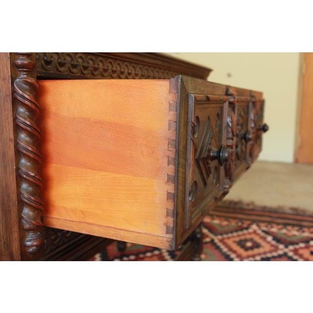 Limbert Furniture Co. Elizabethan-Style Sideboard - Image 8 of 9