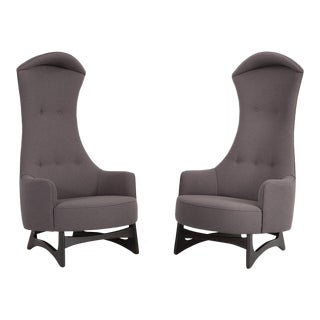 Pearsall High Back Chairs - a Pair For Sale