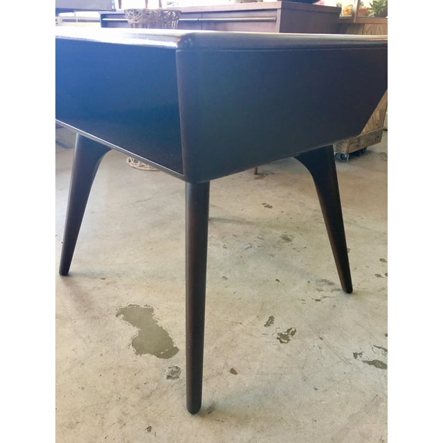 Wood Heywood Wakefield Side Table For Sale - Image 7 of 13
