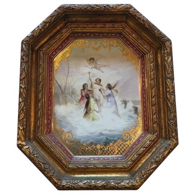 """Triumph der Venus"" Royal Vienna Platter For Sale"