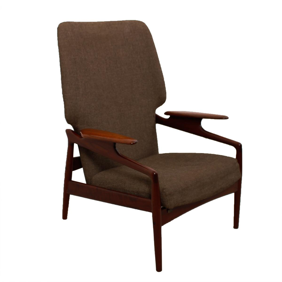 High Quality Finn Juhl Reclining Wingback Chair