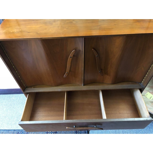 1950s Mid-Century Modern Highboy For Sale - Image 9 of 13