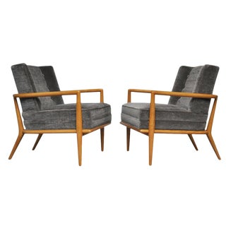 T.H. Robsjohn-Gibbings, Pair of Lounge Chairs