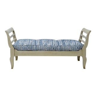 Painted 19th Century French Provincial Daybed / Bench For Sale