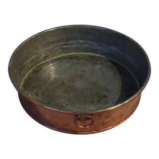 19th Century Antique Copper Baking Pan For Sale