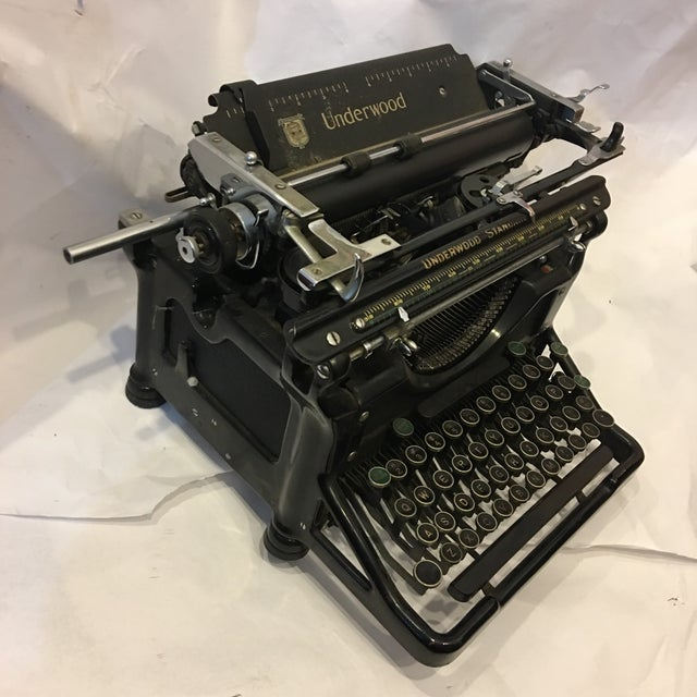 Vintage Underwood Standard Typewriter - Image 9 of 10