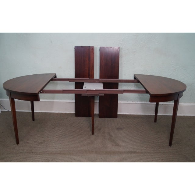 Vintage Solid Mahogany Extension Dining Table - Image 8 of 10