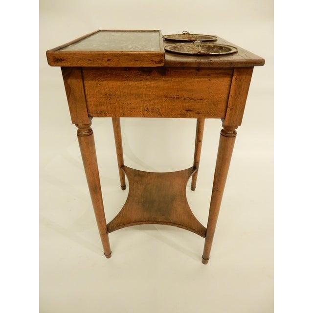 19th Century French Provincial Walnut Rafraichissoir For Sale - Image 5 of 8
