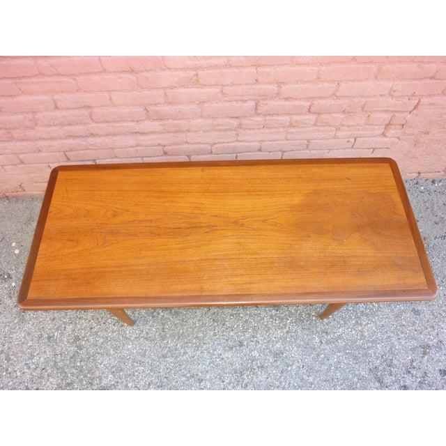 Hans Wegner Hans Wegner Attributed Coffee Table For Sale - Image 4 of 4