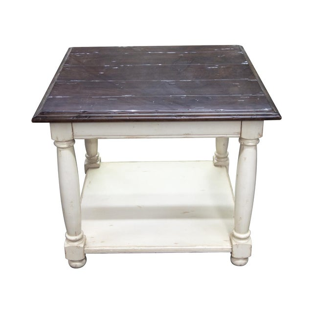 Fremarc Designs Country English Side Table For Sale In Los Angeles - Image 6 of 6